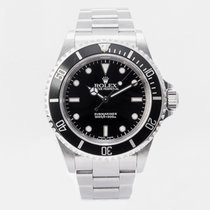 Rolex 14060M Сталь 2002 Submariner (No Date) 40mm подержанные
