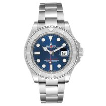 Rolex Yacht-Master 40 Steel 40mm Blue No numerals United States of America, New York, New York