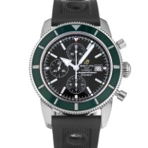 Breitling Superocean Heritage Chronograph Steel 46mm Black No numerals United States of America, Maryland, Baltimore, MD