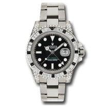 Rolex GMT-Master II White gold 40mm Black No numerals United States of America, New York, New York