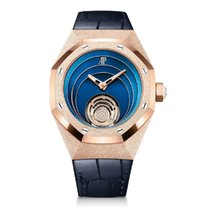 Audemars Piguet Royal Oak Concept Rose gold 39mm Blue No numerals United States of America, New York, New York
