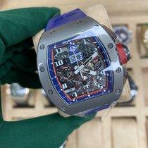 Richard Mille RM 011 Titanio 50mm Transparente