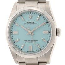 Rolex (ロレックス) オイスター パーペチュアル 36 ステンレス 36mm ブルー 日本, Tokyo