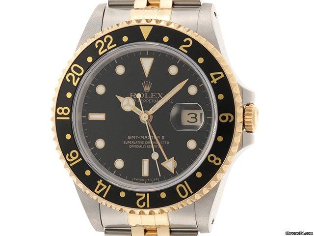 Rolex (ロレックス) GMT マスター II 16713 1992 中古