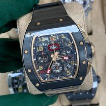 Richard Mille RM 011 Cerámica 50mm Transparente Arábigos