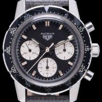 Heuer Steel 40mm Black No numerals United States of America, California, Los Angeles