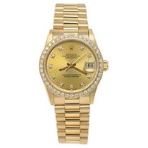 Rolex Datejust Yellow gold 31mm Gold No numerals
