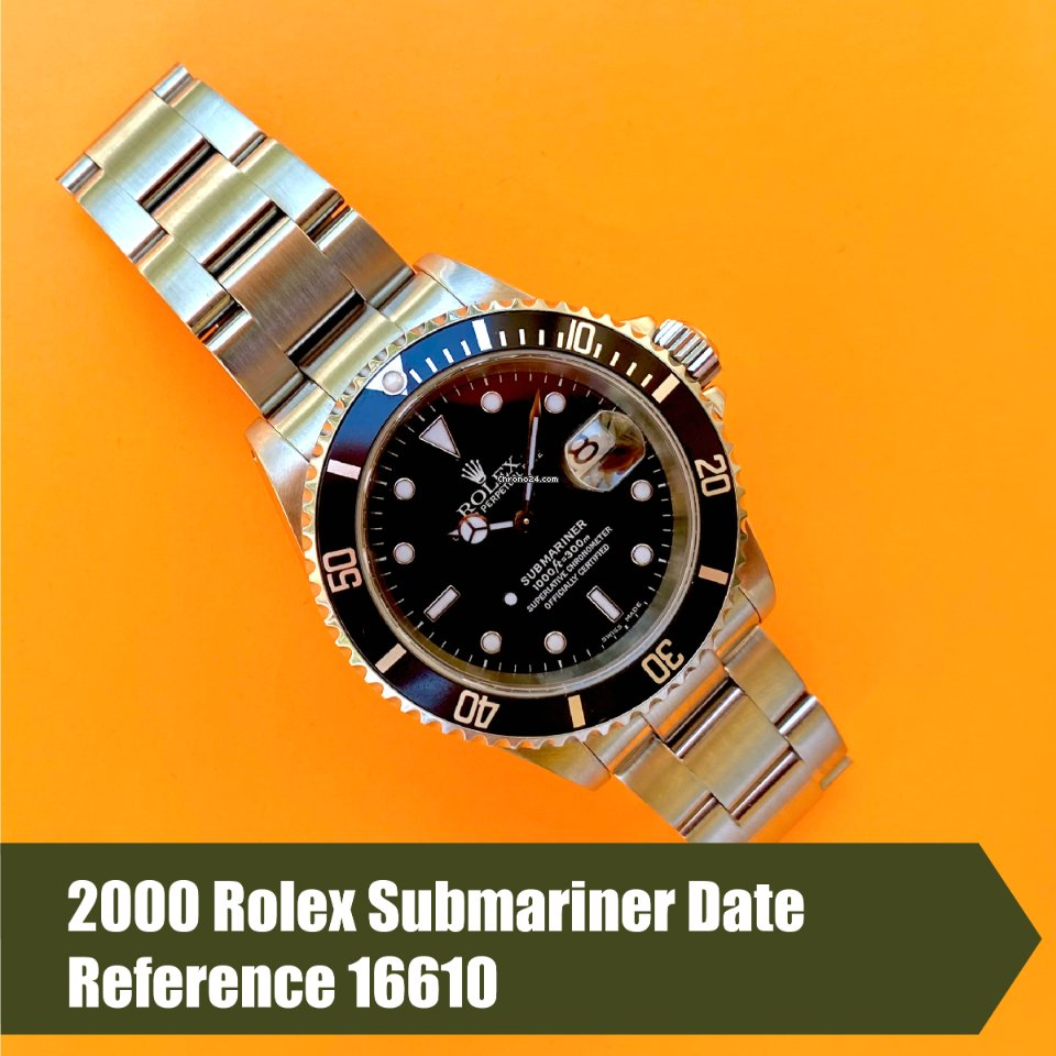 Rolex Submariner Date 16610 2000 pre-owned