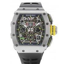 Richard Mille RM 011 Titanio 49.94mm Transparente Arábigos