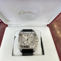 Cartier Santos 100 Steel 41mm White Roman numerals United States of America, New Jersey, Totowa