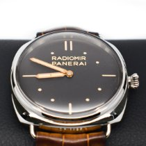 Panerai Platinum Manual winding Brown 47mm pre-owned Special Editions