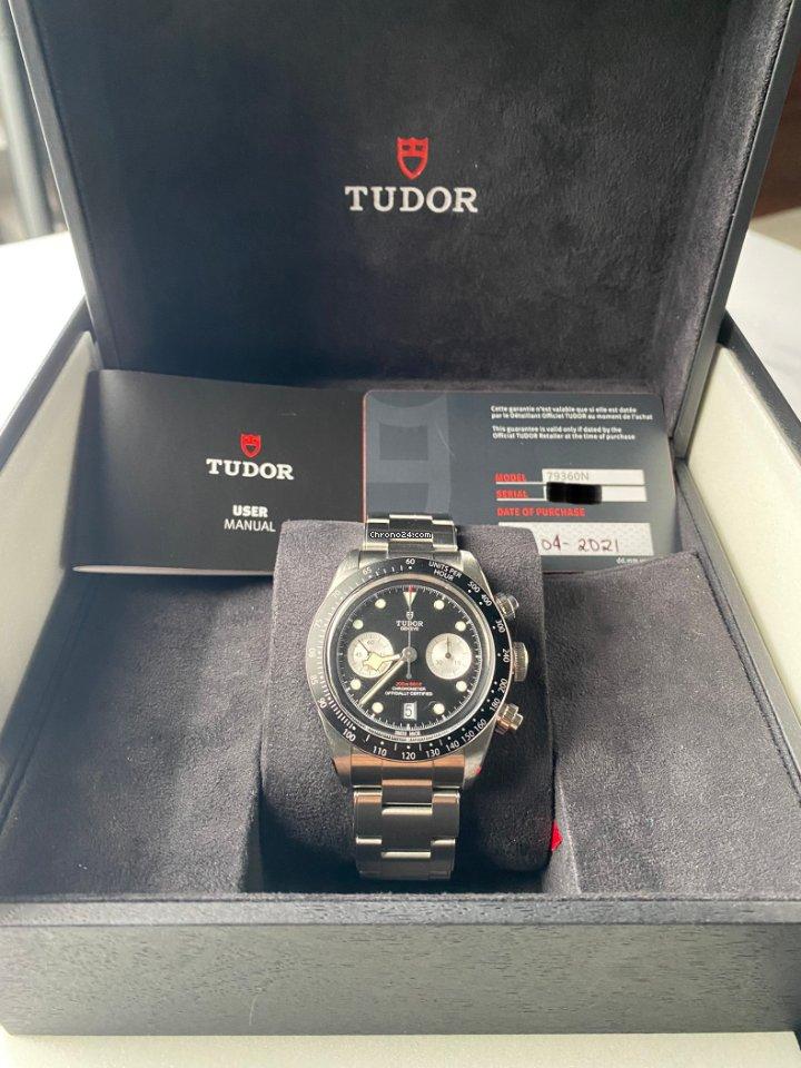 Tudor Black Bay Chrono 79360N 2021 pre-owned