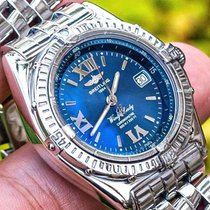Breitling Wings Lady Acero 31mm Azul Romanos