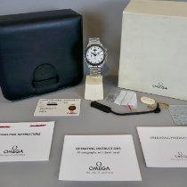 Omega Speedmaster Professional Moonwatch Moonphase Stahl Weiß