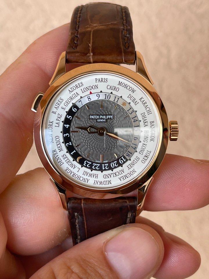 Patek Philippe World Time 5230R-001 2018 brugt