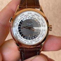 Patek Philippe World Time 5230R-001 Odlično Ruzicasto zlato 38.5mm Automatika