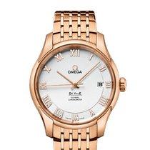 Omega De Ville Co-Axial Red gold Silver