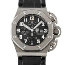 Audemars Piguet Titanium Automatic Black Arabic numerals 48mm pre-owned Royal Oak Offshore Chronograph