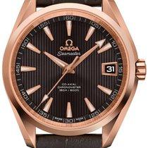 Omega Rose gold Automatic Grey 41.5mm new Seamaster Aqua Terra