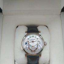 Montblanc Nicolas Rieussec Steel 43mm Silver Arabic numerals United States of America, Texas, San Antonio