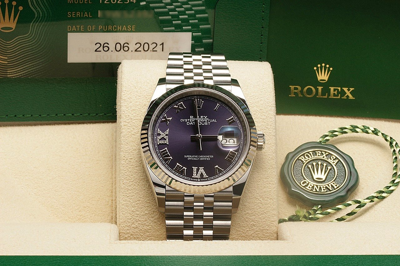 Rolex Datejust 126234 2021 nowość
