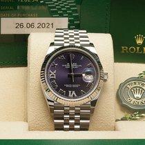 Rolex Datejust 126234 Nowy Stal 36mm Automatyczny