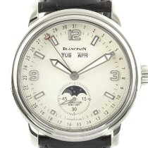 Blancpain Léman Moonphase Steel 40mm Champagne