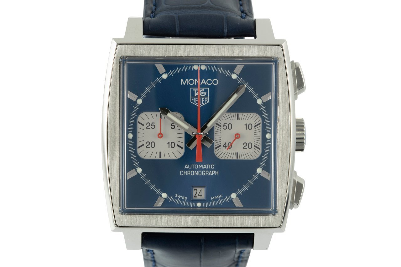 TAG Heuer Monaco CW2113-0 2007 pre-owned