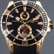 Ulysse Nardin Diver Chronometer gebraucht 44mm Schwarz Datum Kautschuk