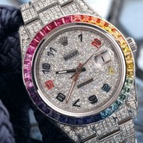 Rolex Datejust II Steel 41mm Arabic numerals United States of America, New York, New York