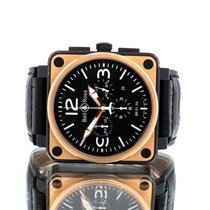 Bell & Ross BR 01-94 Chronographe Br01 94 Good Gold/Steel 46mm Automatic