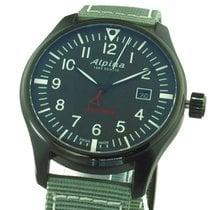 Alpina Startimer Pilot Сталь 40mm Зеленый