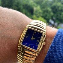 Piaget Tanagra подержанные 21mm Синий Желтое золото