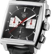 TAG Heuer Monaco Steel 39mm Black No numerals United States of America, California, Los Angeles