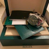Rolex Milgauss Stahl 40mm Schwarz Keine Ziffern Schweiz, lugano