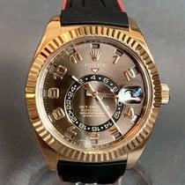Rolex Sky-Dweller Rose gold 42mm Brown Arabic numerals United States of America, Tennesse, Nashville