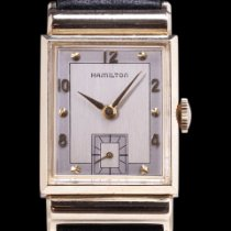 Hamilton Yellow gold Manual winding White pre-owned