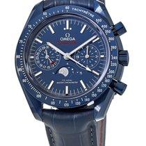 Omega 304.93.44.52.03.001 Keramiek 2021 Speedmaster Professional Moonwatch Moonphase nieuw