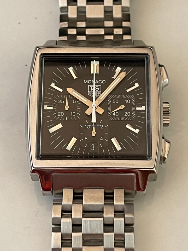 TAG Heuer Monaco CW2111-0 pre-owned