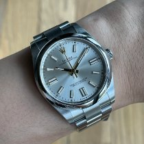 Rolex Oyster Perpetual Steel 41mm Silver No numerals Malaysia, Kuala Lumpur