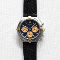 Breitling Callisto pre-owned 36mm Blue Leather