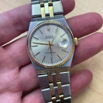 Rolex Datejust Oysterquartz Gold/Steel 36mm Silver No numerals United States of America, Florida, West Palm Beach