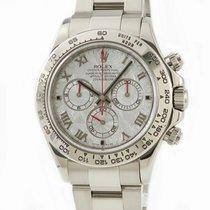 Rolex 116509 METEO Or blanc Daytona 40mm occasion