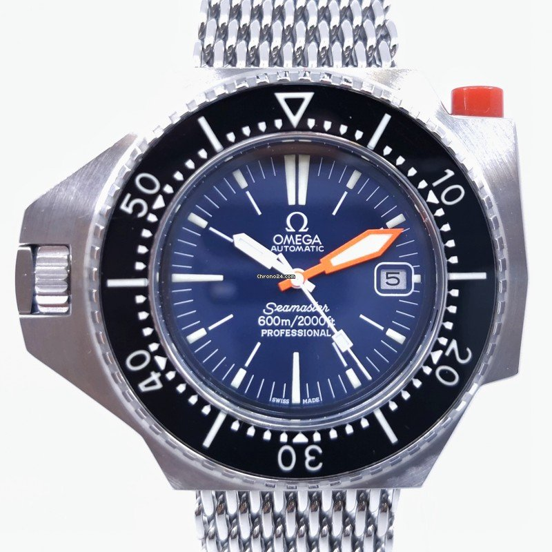 Omega Seamaster PloProf 166077 pre-owned