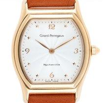 Girard Perregaux (ジラール・ペルゴ) リシェビル イエローゴールド 37mm ホワイト アラビアインデックス