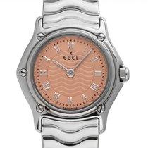 Ebel Sport Сталь 23mm Розовый