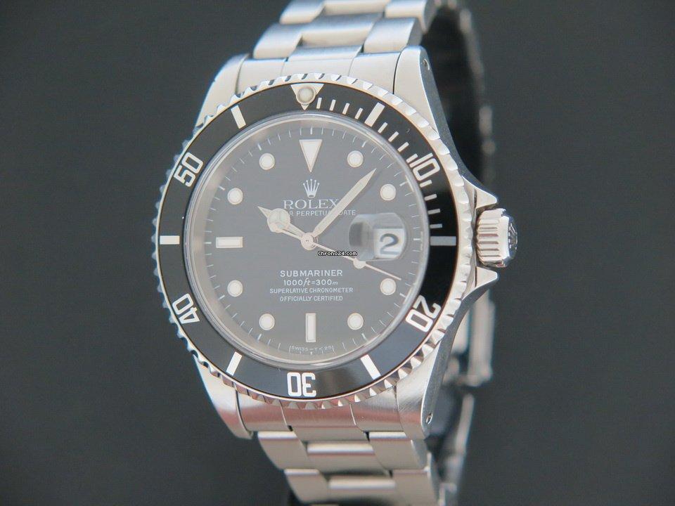 Rolex Submariner Date 16610 1996 gebraucht