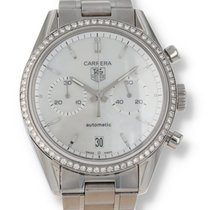 TAG Heuer Carrera Calibre 17 Steel 39mm Mother of pearl United States of America, New Hampshire, Nashua