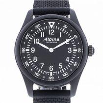 Alpina Startimer AL-187B4S6-BLK Very good 41.5mm