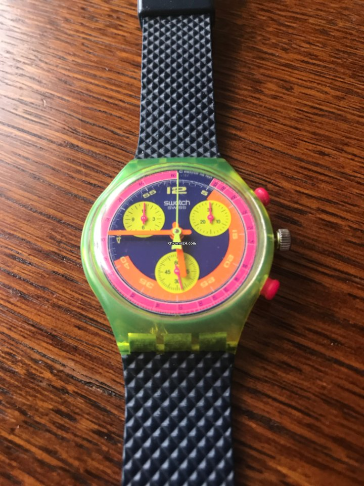 Swatch SCJ101 1992 pre-owned